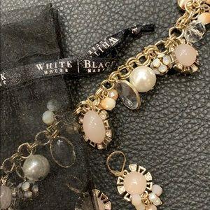 White House | Black Market bracelet and earrings